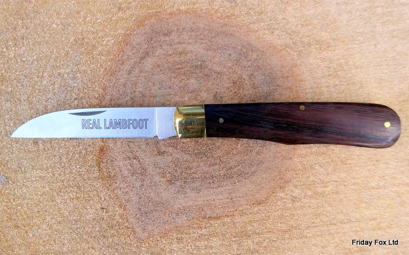 English Pocket Knives Whitby Lambfoot Pocket Knife